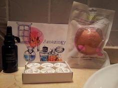 Productos de Amazingy para mi ritual de belleza.