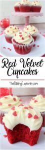 Red Velvet Cupcakes - The Baking Explorer