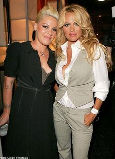 P!nk and Pam Anderson