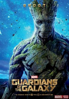 Groot international poster for Marvel's Guardians of the Galaxy