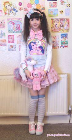 fairy kei - fairy-kei outfit..