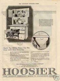 Hoosier Kitchen Cabinet (1920)