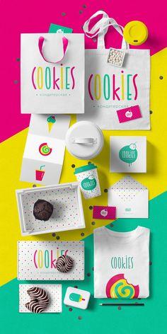Brand ideas and inspiration for PR With Perkes - from pop art to bright colours Graphisches Design, Logo Design, Graphic Design Branding, Stationery Design, Brochure Design, Cover Design, Corporate Identity Design, Brand Identity Design, Identity Branding