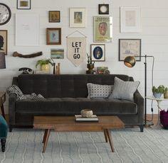 Hancock Sofa - Dark Gray