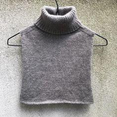 Knit Vest Pattern, Crochet Doll Pattern, Collar Pattern, Knit Crochet, Knitting Patterns, Knitting Projects, Stockinette, Knit Fashion, Clothing Patterns