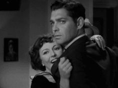 """Jean Harlow and Clark Gable in """"Hold Your Man."""" #gif"""