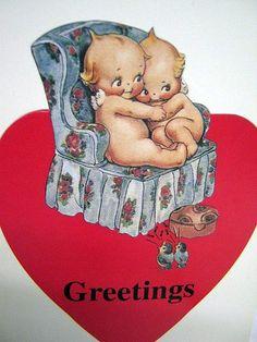 ❤️Vintage Kewpie Valentine