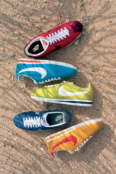 Nike Cortez. Comfy Classics. Fun New Colors.