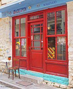 Traditional kafeneio in Ioannina by amalia lampri Greece Itinerary, National Road, Coffee World, Coffee Places, Paradise On Earth, Ancient Greece, Crete, Santorini, Athens