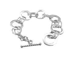 Tianguis Jackson Sterling Silver Wristwear http://www.tianguis.co.uk/shop/index.php/sterling-silver-wristwear/bt1414-shiny-and-textured-sterling-silver-bracelet.html