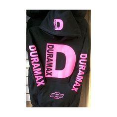 DURAMAX DIESEL HOODIE PINK FONT CUSTOM MADE DIESEL TRUCK HOODIES. ❤ liked on Polyvore featuring tops, hoodies, pink hoodie, hooded sweatshirt, hoodie top, diesel hoodie and unisex tops