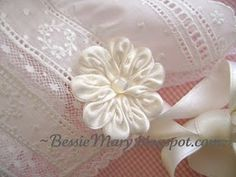 Instructions for making ribbon ends to stitch to bonnets.  And lots of inspiration.