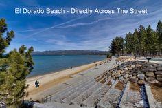 Eldorado Beach Directly Across the street