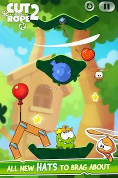ZeptoLab releases Cut the Rope 2 for iPhone.