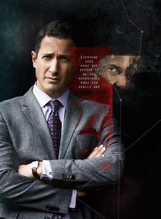 Grimm TV Show - Sean Renard's Grey Suit (Hugo Boss) with shirt & tie -No reserve Grimm Series, Tv Series, Grimm Tv Show, David Giuntoli, Sasha Roiz, Nbc Tv, Brothers Grimm, Sin City, Best Tv Shows