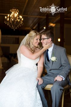 Robbins Sanford provides a beautiful venue not only for the ceremony and reception, but for bridal portraits as well.