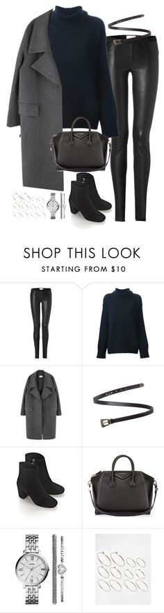 """Untitled#4089"" by fashionnfacts ❤ liked on Polyvore featuring Helmut Lang, Forte Forte, Yves Saint Laurent, Alexander Wang, Givenchy, FOSSIL and ASOS"