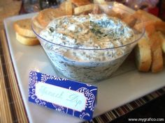 Spinach Dip A Very Blessed Housewarming Party
