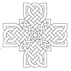 Celtic Cross Design 2 by baalthezzar