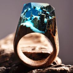 These Rings Have Tiny Forests Inside Of Them And Just Take My Money Already
