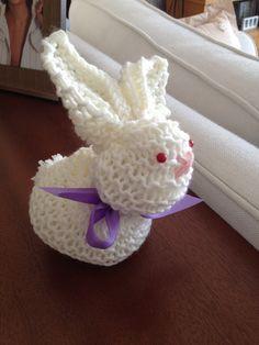 Kareden tavşan yapımı