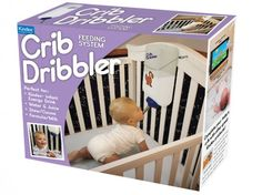 Let the Crib Dribbler Feed Your Baby So You Can Get Some Rest!    http://www.inhabitots.com/let-the-crib-dribbler-feed-your-baby-so-you-can-get-some-rest/
