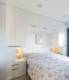 Bedroom Built Ins Around Bed . Bedroom Built Ins Around Bed . Built In Wardrobe & Desk Bedroom Built Ins, Small Master Bedroom, Closet Bedroom, Home Decor Bedroom, Bedroom Ideas, White Bedroom, Small Bedroom Wardrobe, Closet Wall, Wardrobe Bed