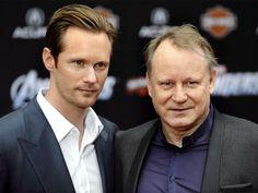 Stellan Skarsgard and Alexander Skarsgard .... Alexander with father Stellan. Look familiar?