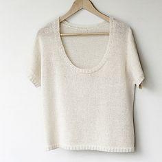 NobleKnits.com - Manos Serena Marly Tee/Pullover Knitting Pattern, $6.95 (http://www.nobleknits.com/manos-serena-marly-tee-pullover-knitting-pattern/?utm_source=NobleKnits Yarn Shop