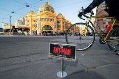 Tiny Billboards for Ant-Man Are Popping Up That Ants Are Really Going to Love
