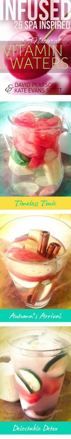 Fruit Infused Water: Everything You Need! Infused Water Recipes, Fruit Infused Water, Fruit Water, Fresh Fruit, Infused Waters, Fruit Drinks, Yummy Drinks, Beverages, Healthy Smoothies