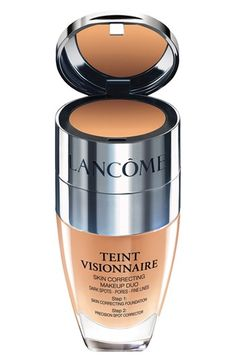 My new favorite foundation, absolutely loooove it, Lancôme 'Teint Visionnaire' Skin Correcting Makeup Duo available at #Nordstrom