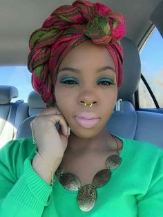Don't Know What To Do With Your Hair: Check Out This Trendy Ghana Braided Hairstyle Scarf Hairstyles, African Hairstyles, Braided Hairstyle, Black Hairstyles, Bad Hair Day, My Hair, Hair Wrap Scarf, Head Scarf Styles, African Head Wraps