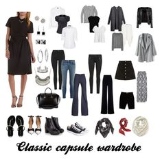 Classic capsule wardrobe by njstyle on Polyvore featuring polyvore, fashion, style, Charlotte Russe, Isabel Marant, Steffen Schraut, J.Crew, Phase Eight, MANGO, Boohoo, AG Adriano Goldschmied, rag & bone/JEAN, Letitia, Moschino, Topshop, Givenchy, Miss KG, Converse, Kobelli, Blue Nile, Waterford, Gypsy Soul, Valentino, Aéropostale and H&M
