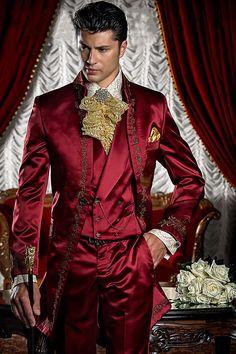Many Colors Mens Premium Slim Fit Italian Design Tail Tuxedo