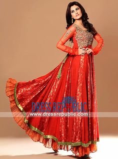 Designer Indian Clothes Online Long Anarkali Dresses From