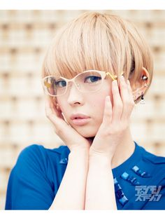 glasses 135 最上もが(でんぱ組.inc)|ビジョメガネ|ONLINE デジモノステーション