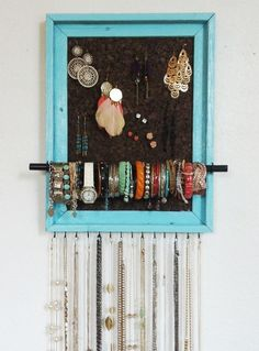 jewelry holder & Custom Handmade Jewelry Organizer by AfterTheLeavesFall on Etsy ...
