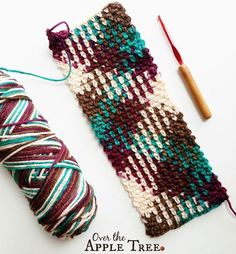 Color Pool Crochet Scarf