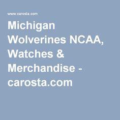 Michigan Wolverines NCAA, Watches & Merchandise - carosta.com
