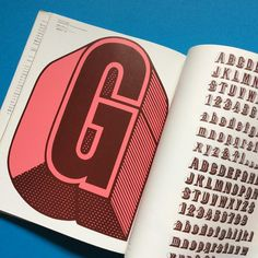 Extract taken from the 'Idea Archive' book on 'Milton Glaser'. Great typography. Available on Counter-Print.co.uk #counterprintbooks #miltonglaser #typography