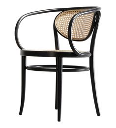 210 R Thonet chair | Design Michael Thonet 300 get from Bauhaus2yourhouse.com in antiqued brown and cane 680