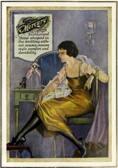 1920 Mercury Hosiery