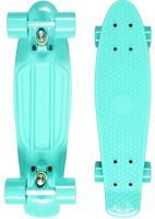 Mint penny board with dark green wheels, £29.99 ebay