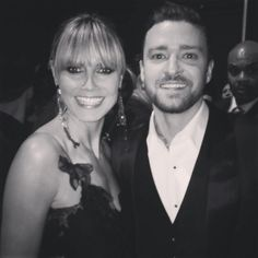 ee8b37aa040 Justin Timberlake · Hedi Klum tweeted this photo of her and JT backstage at  the 2013 AMAs American Music