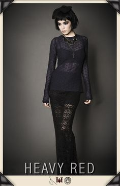 ALLURING PROVOCATION GOTHIC LACE SHIRT