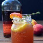Bourbon Peach Sweet Tea
