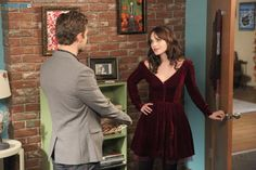 """#NewGirl 4x09 """"Thanksgiving IV"""" - Jess  spends some one-on-one time with Ryan."""