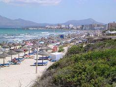 """""""Praia de Can Picafort"""". * Ilha de Maiorca * Espanha."""