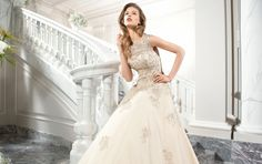 Demetrios Couture Wedding Dress Style C205
